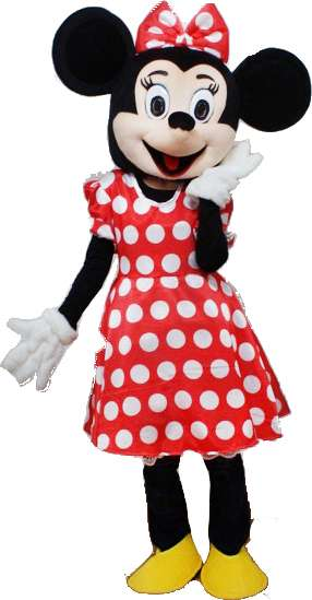 Location déguisement mascotte minnie mouse